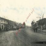 خیابان اصلی علی آباد کتول در اطراف هتل بهار سال 1337هجری شمسی