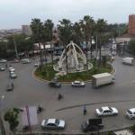 میدان شهرداری علی آبادکتول سال 1394 هجری شمسی
