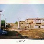 میدان شهرداری علی آباد کتول در سال 1320 هجری شمسی