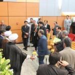 مراسم دانشگاه ايت الله املي با حضور دكتر لاريجاني و حاج عليرضا ابراهيمي فرد وجمعي از مسئولين1393